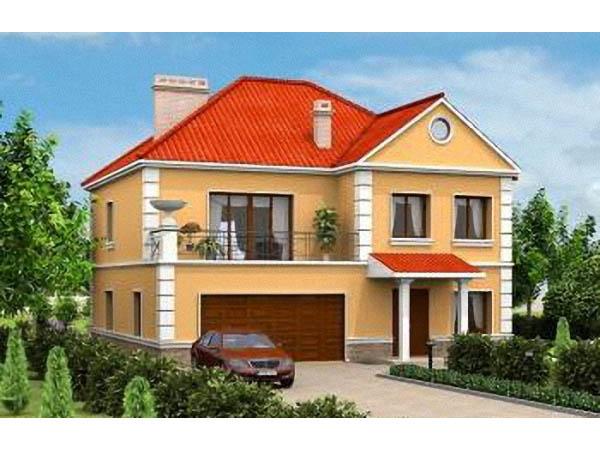 Дом с встроенным гаражом фото